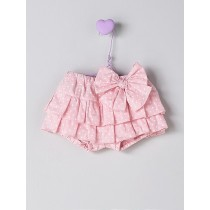 NANOS 粉色點點短褲