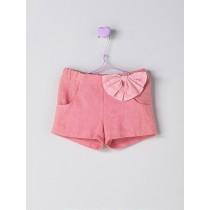 NANOS 粉色蝴蝶結短褲
