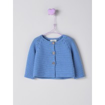 NANOS 藍色針織外套