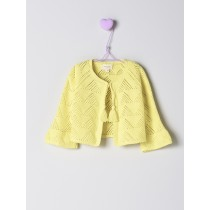 NANOS 黃色水袖針織外套
