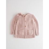 NANOS 粉色連帽外套