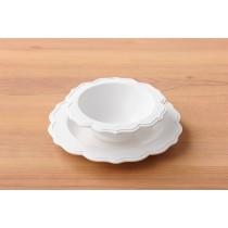 旖旎翡冷翠Reale花型碗盤-蛋糕上的鮮奶油
