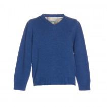 NANOS 皇室藍羊毛毛衣