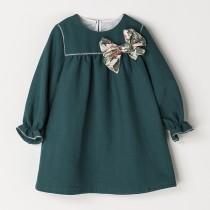 NANOS 深湖水綠洋裝