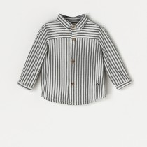 NANOS 灰色條紋襯衫