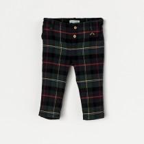 NANOS 經典格紋反折褲(1~2Y)