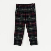 NANOS 經典格紋反折褲(4~6Y)