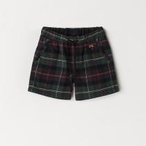 NANOS 經典格紋短褲