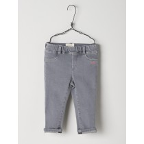 NANOS 灰色反折長褲