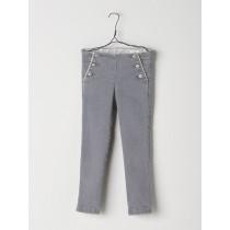 NANOS 灰色純棉長褲