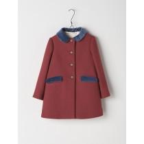 NANOS 紅色毛料大衣