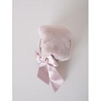 NANOS 粉色毛茸茸帽