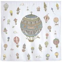 Atelier Choux Paris 有機棉包巾-熱氣球包巾