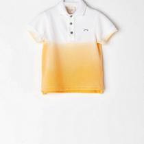 NANOS 經典POLO衫-漸層黃