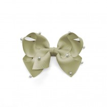 BOWNITA-法式珍珠- Olive Gray