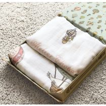 Atelier Choux 熱氣球床包&包巾禮盒組