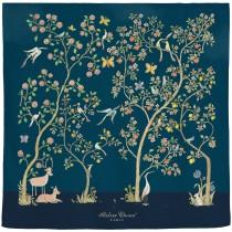 Atelier Choux Paris 有機棉包巾- IN BLOOM NIGHT包巾(限量款)