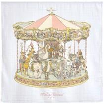 Atelier Choux Paris 有機棉包巾-旋轉木馬包巾