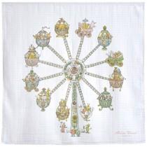 Atelier Choux Paris 有機棉包巾- 摩天輪包巾