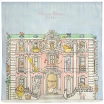 Atelier Choux Paris 有機棉包巾-動物狂想包巾