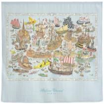Atelier Choux Paris 有機棉包巾-海洋歷險包巾