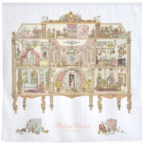 Atelier Choux Paris 有機棉包巾-Atelier Choux 娃娃屋包巾