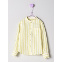 NANOS 黃色線條襯衫