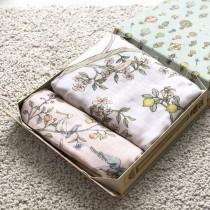 Atelier Choux IN BLOOM - PINK床包+包巾禮盒組