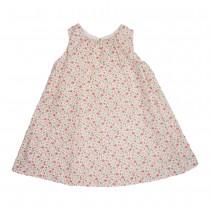 MILE BEBE 粉色小花無袖背心裙洋裝