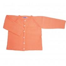 MILE BEBE 珊瑚橘針織外套