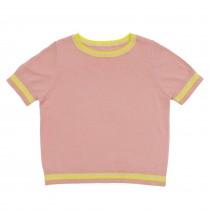 ROLY PONY 粉色短袖上衣