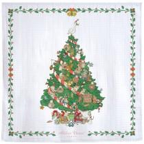 Atelier Choux Paris 有機棉包巾- CHRISTMAS MORNING