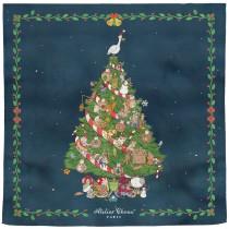 Atelier Choux Paris 有機棉包巾-CHRISTMAS EVE (限量)